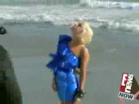 Lady Gaga Nearly Naked In V Magazine
