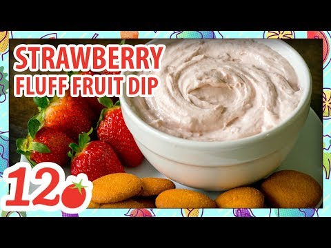 How to Make: Strawberry Fluff Fruit Dip