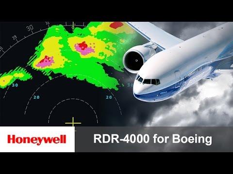 RDR-4000 IntuVue™ Weather Radar Pilot Training for Boeing Aircraft | Avionics | Honeywell Aviation