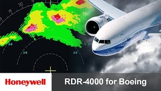 RDR-4000 IntuVue™ Weather Radar Pilot Training for Boeing Aircraft | Avionics | Honeywell Aviation