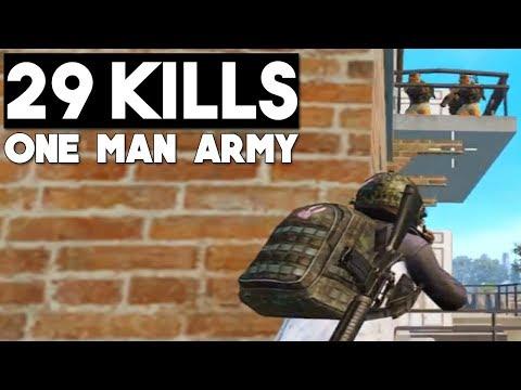 PANDA vs SQUADS | INSANE 29 KILLS | PUBG Mobile