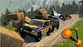BeamNG Drive Random Vehicle #44 Crash Testing #157
