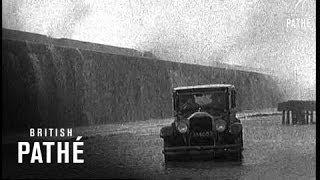 Capetown Experiences Rough Weather (1937)