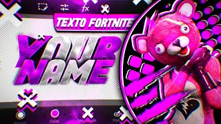TUTORIAL HOW TO Make THE BEST Text FOR FORTNITE and FreeFire Banner On Android // PsTouch,GFX