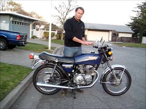 1975 honda 400 four super sport cb400f youtube. Black Bedroom Furniture Sets. Home Design Ideas