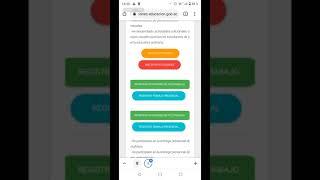 TELETRABAJO (actualización de plataforma)