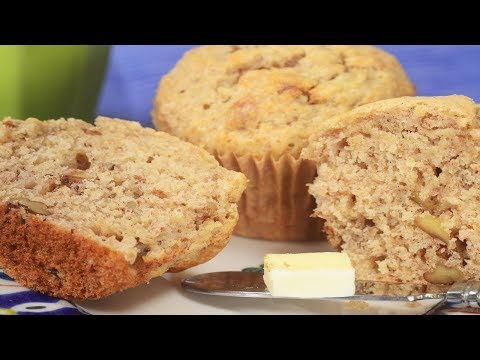 banana-muffins-recipe-demonstration---joyofbaking.com