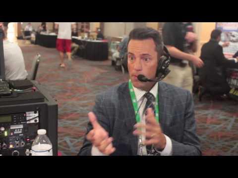 SEC Network's Peter Burns at SEC Media Days