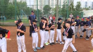 TIGERS II место !!!ТИ-БОЛ первенство России 2013 г (2003-2005г.р.)