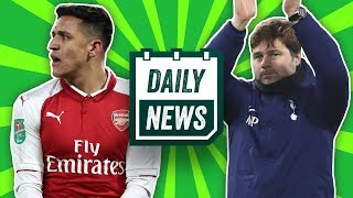 Manchester City dump Sánchez, new Real Madrid manager + transfer gossip! ►Onefootball Daily News