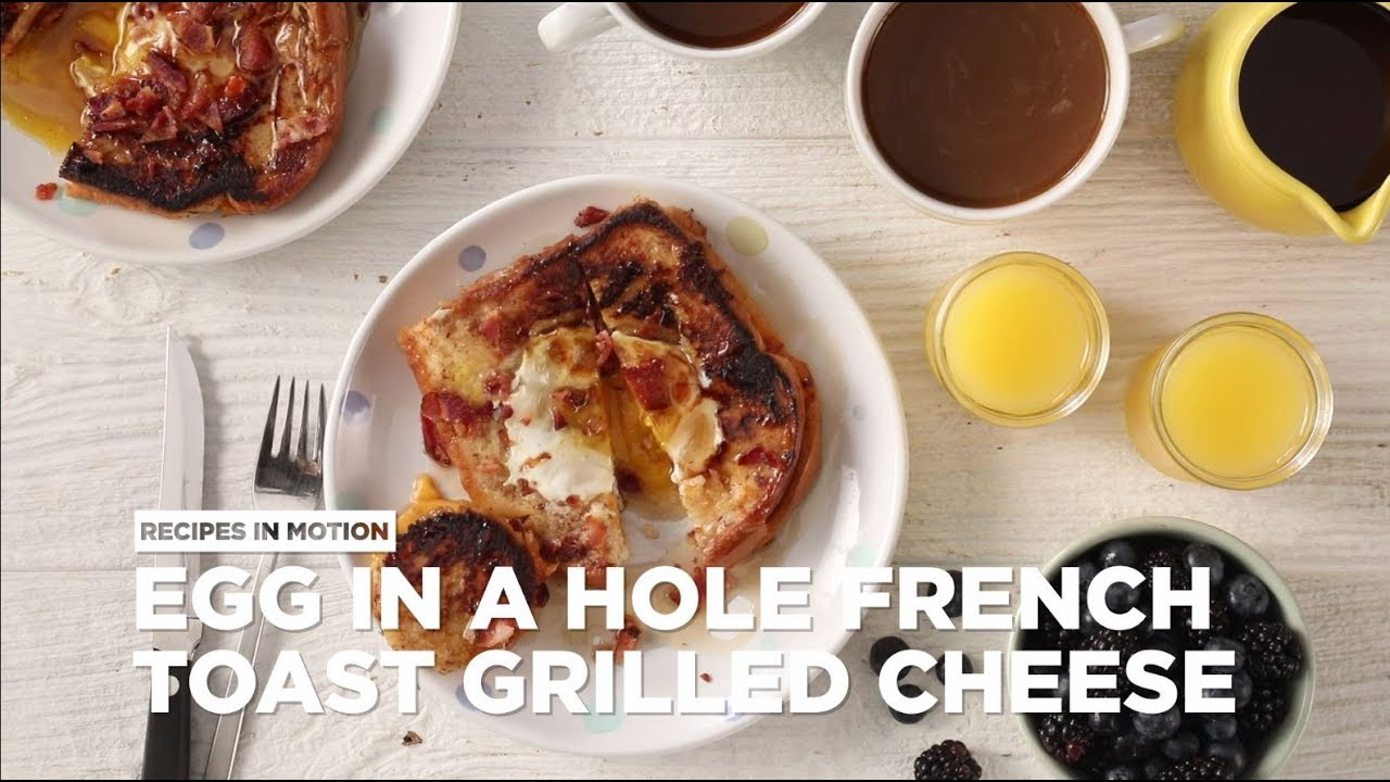How To Make Egg In A Hole French Toast Grilled Cheese Brunch Recipes Allrecipes Com