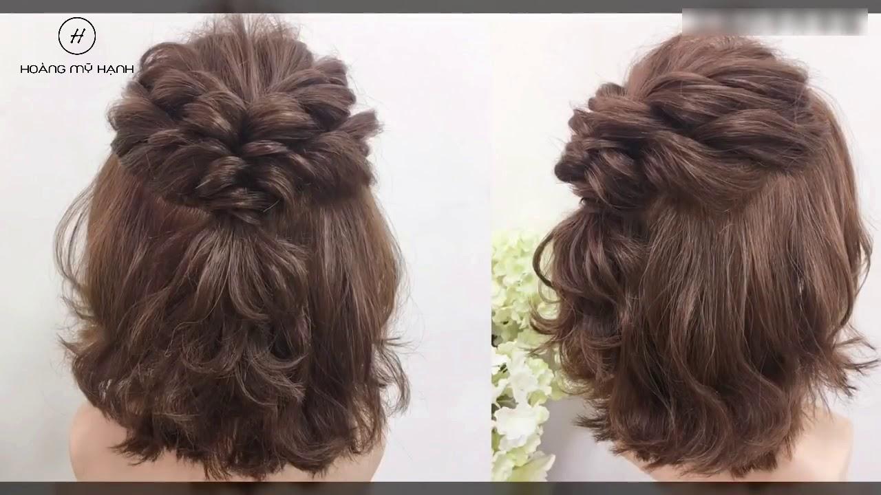 3 kiểu tết tóc đẹp và dễ làm cho tóc ngắn