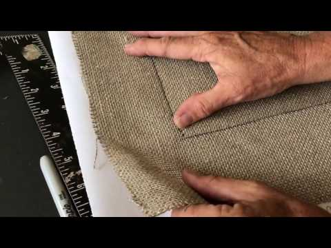How To Make An EASY RUG HOOKING PATTERN