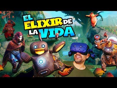 BUSCANDO EL ELIXIR DE LA VIDA EN REALIDAD VIRTUAL