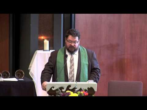 Knit Together in Community, Rev Riddell, Minister of Worship and Music Arts, 2 28 2016 sermon
