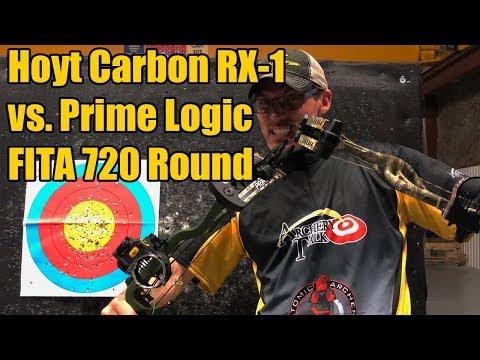 Hoyt Carbon RX-1 vs. Prime Logic - FITA 720 Round