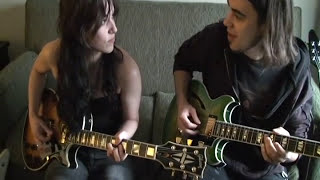 FPE-TV Halestorm-Lzzy Hale and Joe Hottinger