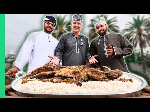 EPIC EID FEAST in Oman!!! Middle Eastern Traditional Shuwa W