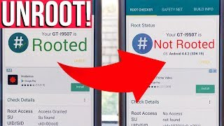 How to REMOVE KINGROOT and UNROOT you Android Phone! | Kingroot Unroot 2019 | Harrison Broadbent