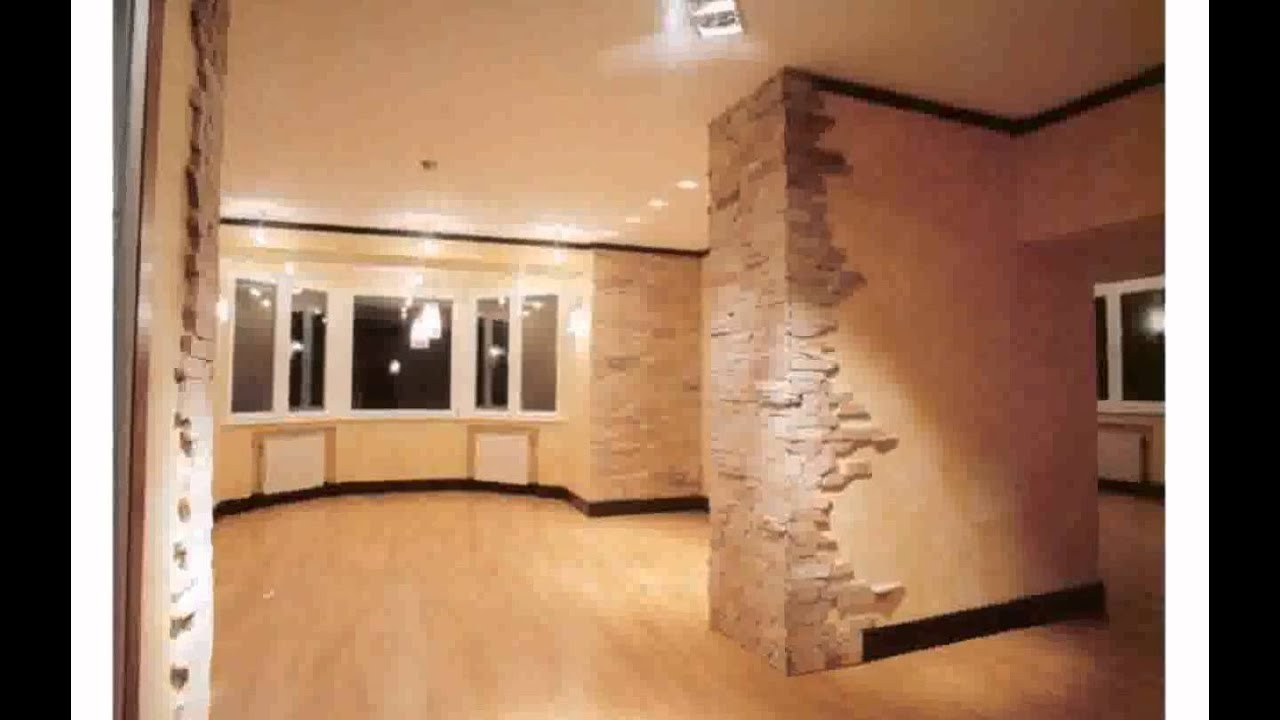 отделка искусственным камнем квартиры фото