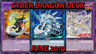 YGO PRO Cyber Dragon Deck - June 2019