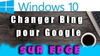 Comment mettre Google en page d'accueil sur Microsoft Edge Windows 10 #AlloOrdi