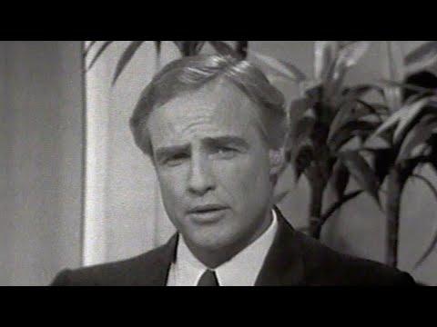 RARE Marlon Brando Interview on The Tonight Show Starring Johnny Carson - 05/11/1968