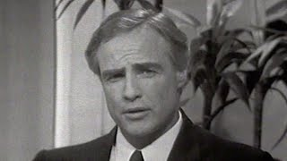 RARE Marlon Brando Interview on The Tonight Show Starring Johnny Carson - 05/11/1968