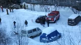 Взрыва газа в Мурманске