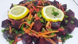 Kırmızı Pancar Salatası Tarifi ve Malzemeleri