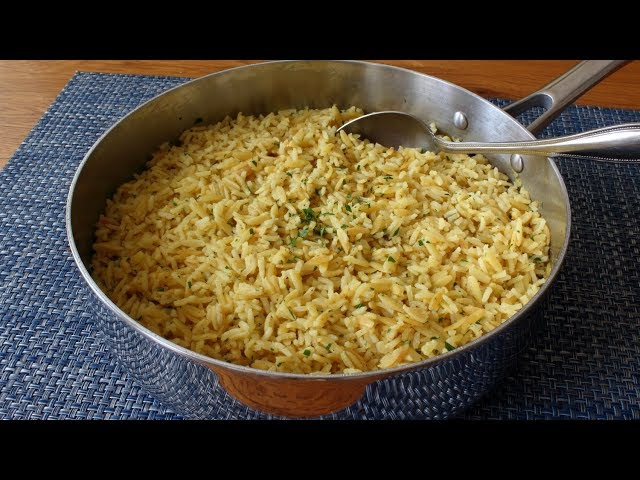 Rice-Ah-Roni - Rice and Pasta Pilaf Side Dish Recipe