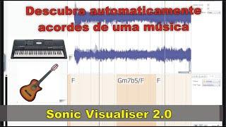 Sonic Visualiser 2.0 - Identifica os acordes