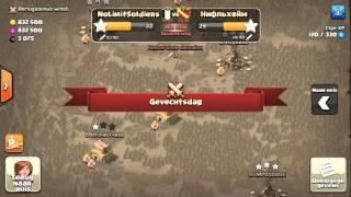 Clash Of Clans - N.L.S. - TH8 VS TH9