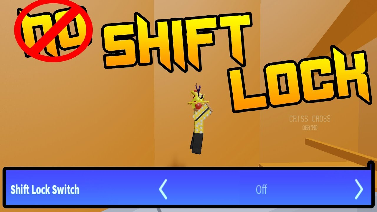 No Shift Lock Challenge In Tower Of Hell Roblox Nanrov Youtube
