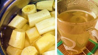 Boil Bananas Before Bed And Drink The Liquid! THIS Happens While You Sleep!