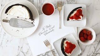 No-Bake Cheesecake with Chocolate Crust- Martha Stewart