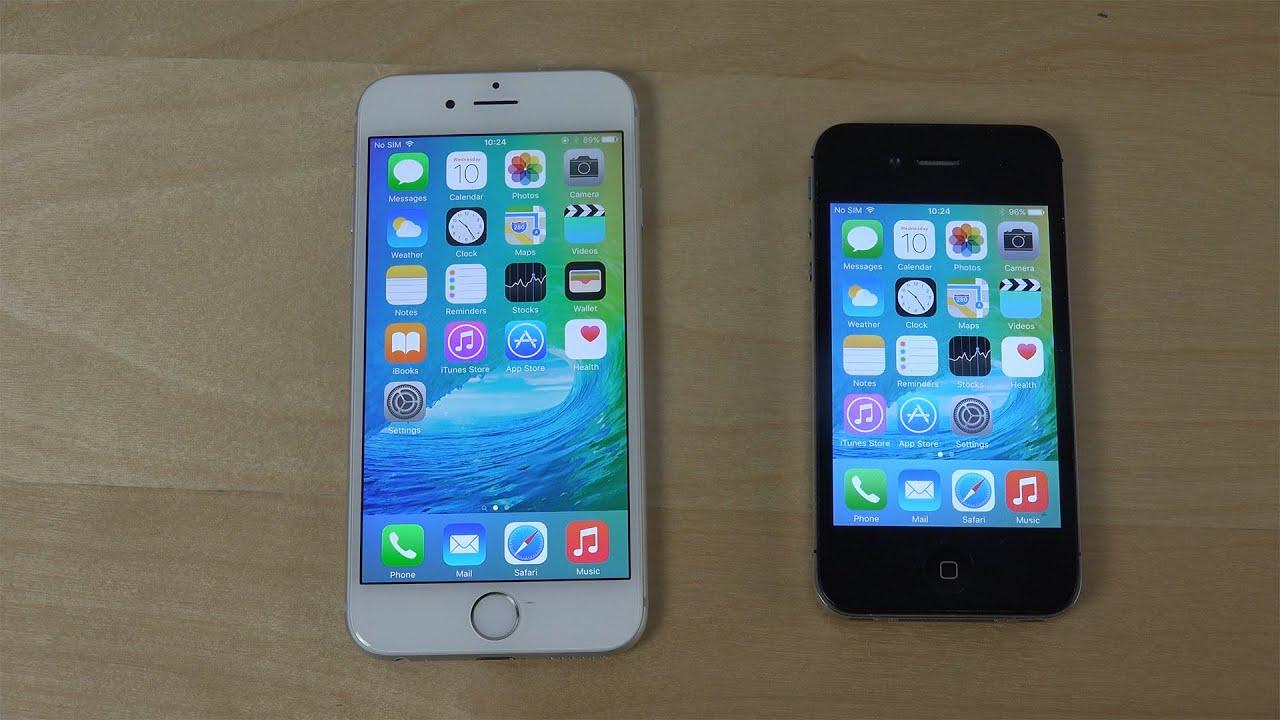 Iphone 4 ios 9
