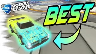 MOST INSANE COMBINATIONS/SHOWCASE with Rocket League Bubbly (Mystery Decal)