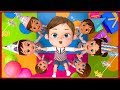 Happy Birthday Song Party After Back To School   Banana Cartoons [HD]