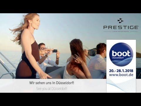 PRESTIGE Yachts - Boot Düsseldorf 2018