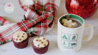FROZEN WHIPPED CREAM HOLIDAY CUBES || Easy Holiday Recipe