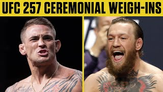 UFC 257: Dustin Poirier vs. Conor McGregor 2 Ceremonial Weigh-Ins | ESPN MMA