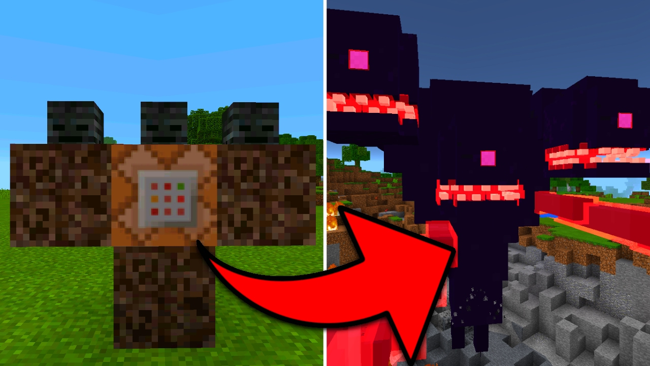 How To Spawn a Wither Storm in Minecraft Pocket Edition