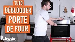 Comment débloquer la porte d'un four