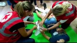 Курсы первой помощи Российского Красного Креста