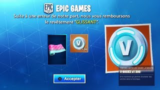 THIS REVÊTEMENT IS FREE FOLLOWING THIS ERROR on FORTNITE! SEASON 9