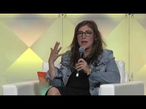 Mayim Bialik: Neuroscience, STEM, Hollywood Sexism, and Grok Nation | #BlogHer16