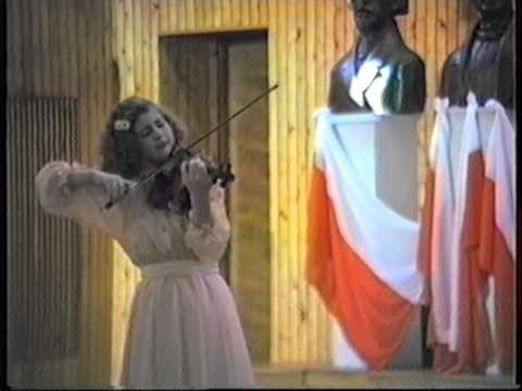 Natalia Prischepenko plays Vieuxtemps Violinkonzert Nr. 5, 1/2