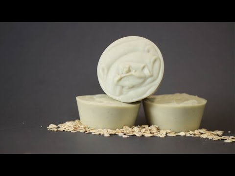 How to Make Gentle Oatmeal Soap for Babies