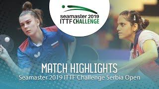 Дарья Шадрина vs Pooja Sahasrabudhe | Serbia Open 2019 (Group)